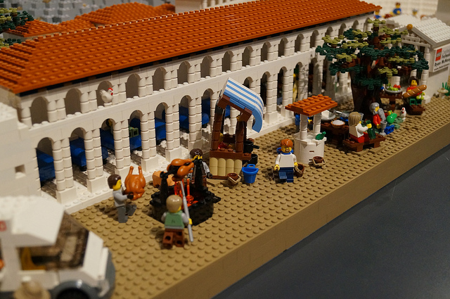 LEGO model of the Acropolis donated to the Acropolis Museum by ...