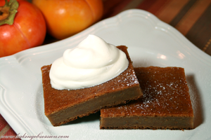 persimmon-pudding
