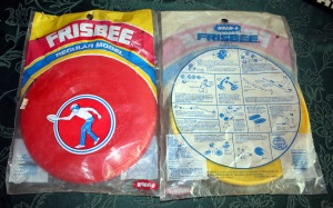 frisbee-red