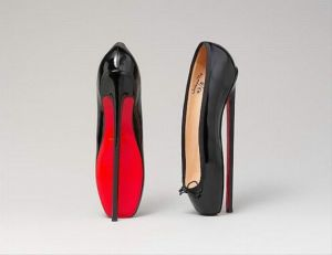 Christian Louboutin (French, born 1963) Pumps, 2007 French,  leather; Height: 10 in. (25.4 cm) The Metropolitan Museum of Art, New York, Gift of Christian Louboutin, 2012 (2012.121a, b) http://www.metmuseum.org/Collections/search-the-collections/146206