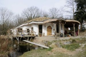 Undated handout photo of house built by Megan Williams and Charlie Hague in Glandwr, Pembrokeshire, west Wales. The environmentally-friendly Hobbit-style house faces being knocked down after councillors refused to give it retrospective planning permission.   PRESS ASSOCIATION Photo. Issue date: Tuesday July 29, 2014. Despite the home winning hundreds of thousands of fans around the world, its owners were served with a demolition order last year after it emerged they had not applied for planning permission. And Pembrokeshire Council chiefs have thrown out Megan and Charlie's appeal to save the property. See PA story ENVIRONMENT . Photo credit should read: Amanda Jackson/PA Wire NOTE TO EDITORS: This handout photo may only be used in for editorial reporting purposes for the contemporaneous illustration of events, things or the people in the image or facts mentioned in the caption. Reuse of the picture may require further permission from the copyright holder.