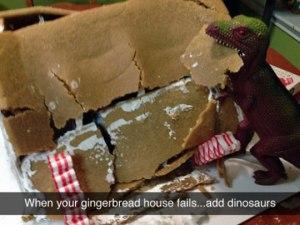 funny-dinosaur-gingerbread-house