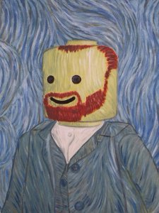 funny-Lego-Van-Gogh-painting
