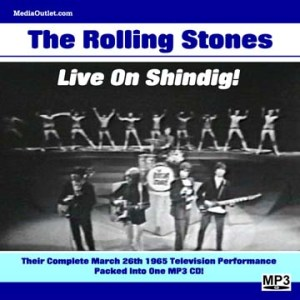 Rolling Stones - Live On Shindig 1965 MP3 CD