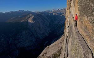 Alex Honnold in Yosemite National Park.