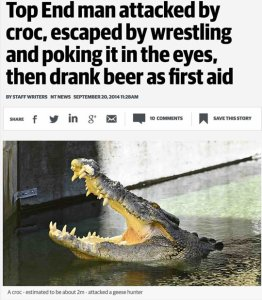 funny-man-attacked-crocodile-wrestling-beer