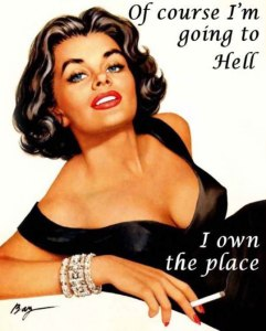 funny-woman-attractive-place-hell