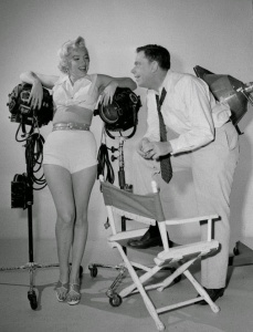 Marilyn Monroe and Tom Ewell in 'The Seven Year Itch' in 1954 (2)