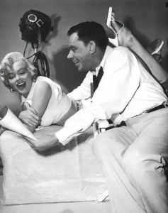 Marilyn Monroe and Tom Ewell in 'The Seven Year Itch' in 1954 (3)