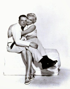 Marilyn Monroe and Tom Ewell in 'The Seven Year Itch' in 1954 (4)