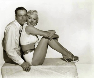 Marilyn Monroe and Tom Ewell in 'The Seven Year Itch' in 1954 (5)