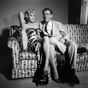 Marilyn Monroe and Tom Ewell in 'The Seven Year Itch' in 1954 (7)
