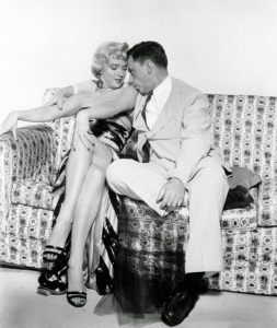 Marilyn Monroe and Tom Ewell in 'The Seven Year Itch' in 1954 (8)