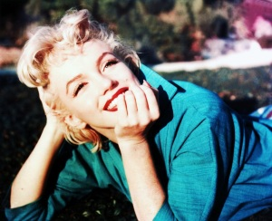Marilyn Monroe in Green Top photographed by Ted Baron in 1954 (3)