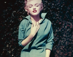 Marilyn Monroe in Green Top photographed by Ted Baron in 1954 (4)