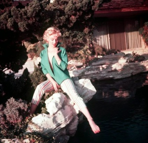 Marilyn Monroe in Green Top photographed by Ted Baron in 1954 (6)