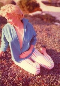 Marilyn Monroe in Green Top photographed by Ted Baron in 1954 (7)