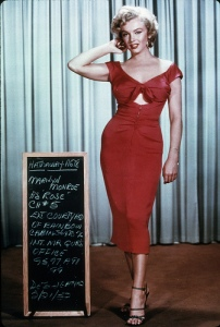 Marilyn Monroe Wardrobe Tests for Niagara (2)