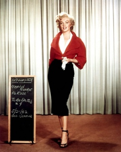 Marilyn Monroe Wardrobe Tests for Niagara (3)