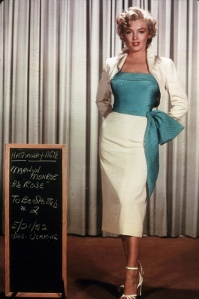Marilyn Monroe Wardrobe Tests for Niagara (5)