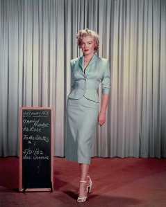 Marilyn Monroe Wardrobe Tests for Niagara (6)
