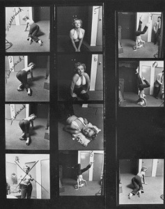 Marilyn Monroe Working Out at the Beverly Carlton Hotel, 1952 (10)