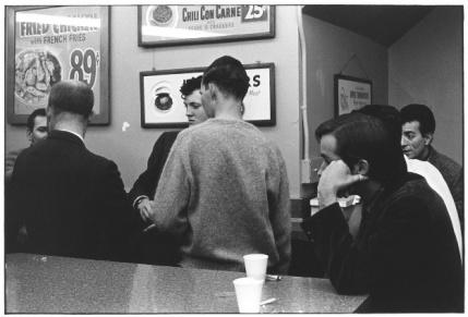 Men in diner