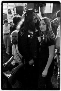 Ron %22Pigpen%22 McKernan of the Grateful Dead and others backstage at concert