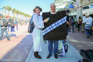 another-princess-leia-takes-a-portable-vacuum-to-her-walking-carpet-companion