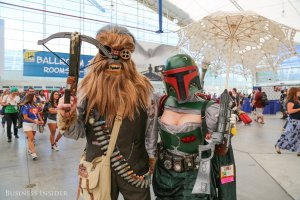 its-no-surprise-star-wars-has-a-monster-presence-at-the-con-with-stars-of-the-upcoming-sequel-in-attendance-chewbacca-and-boba-fett-get-a-steampunk-makeover