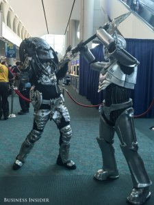 predator-and-cyberman-from-doctor-who-duke-it-out