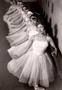 Ballet dancers, Brussels, Belgium, 1929