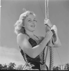 Circus Girl University of Florida, 1952 (12)