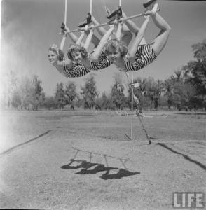 Circus Girl University of Florida, 1952 (18)