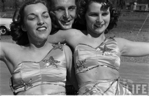 Circus Girl University of Florida, 1952 (2)