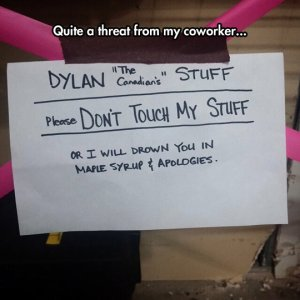 funny-Canadian-Coworker-threat-office