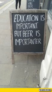 funny-education-sign-blackboard-beer