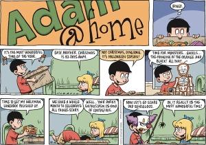 Adam@Home Comic