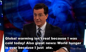 funny-Stephen-Colbert-global-warming-opinion