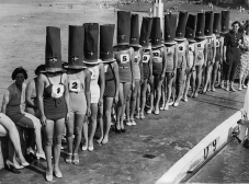 Beauty contest in Cliftonville, England, 1936