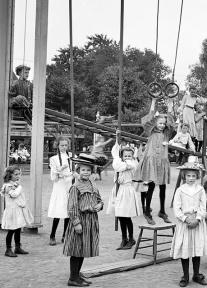 Girls' playground, Harriet Island, St. Paul, Minnesota, 1905