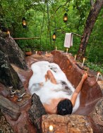 outdoor-bathtub-forest-woman