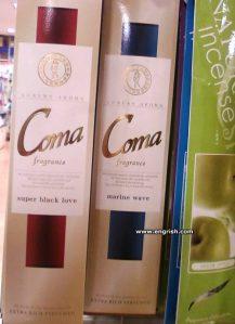coma-fragrance