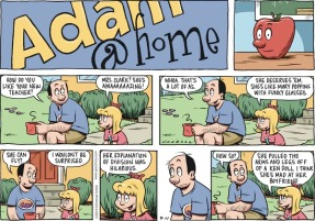 Adam@Home Comic