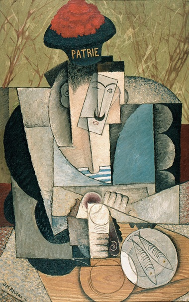 diego-rivera-sailor-at-lunch-marinero-almorzando-1914