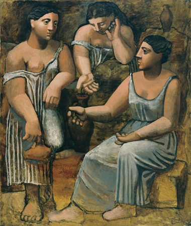 pablo-picasso-three-women-at-the-spring-fontainebleau-summer-1921