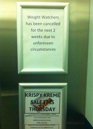 cool-elevator-weight-watcher-krispy-kreme