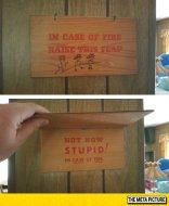 funny-wooden-board-sing-fire
