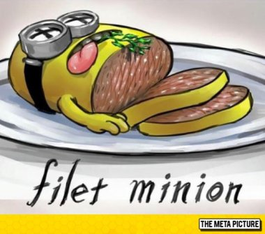 funny-filet-Minion-food-illustration